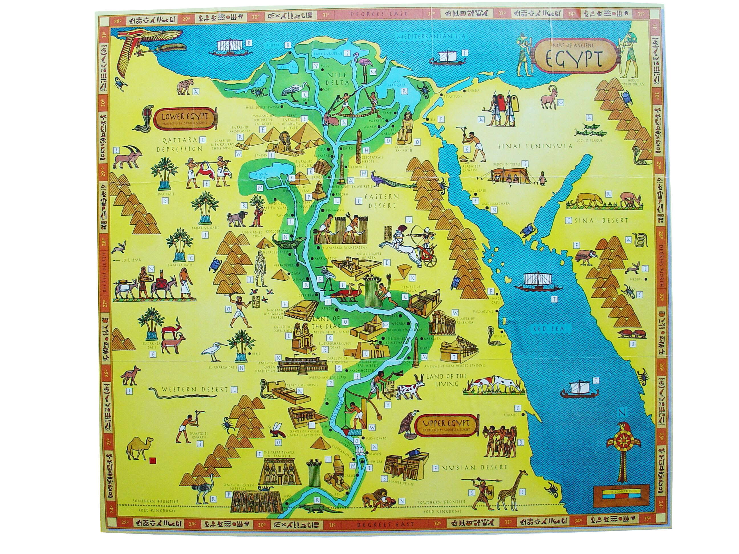 Maps For Kids Satellite Google Maps Offline Maps - Map of ancient egypt for students